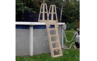 Vinyl Works A Frame Ladder