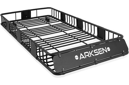 "ARKSEN 84""x 39""x 6"" Universal Roof Rack Cargo Extension Car Top Luggage Holder"