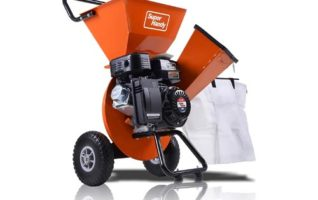 SuperHandy Wood Chipper Shredder Mulcher Ultra Heavy Duty