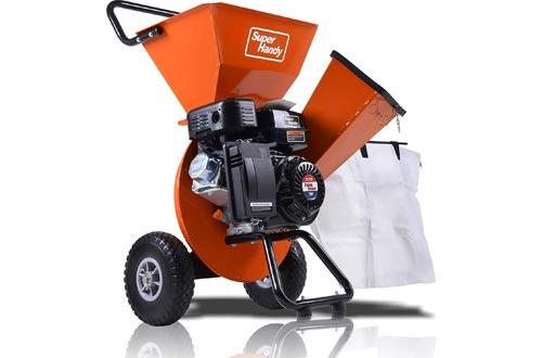 SuperHandy Wood Chipper Shredder Mulcher Ultra Heavy Duty
