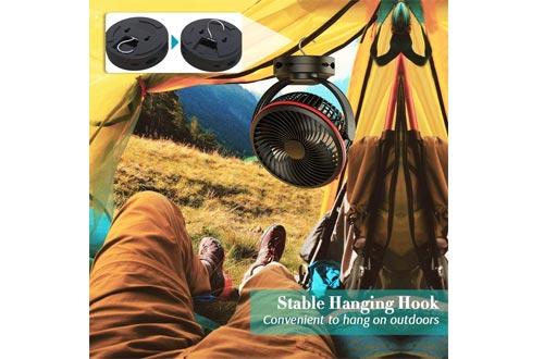 Koonie Rechargeable Battery Operated Desk Fan