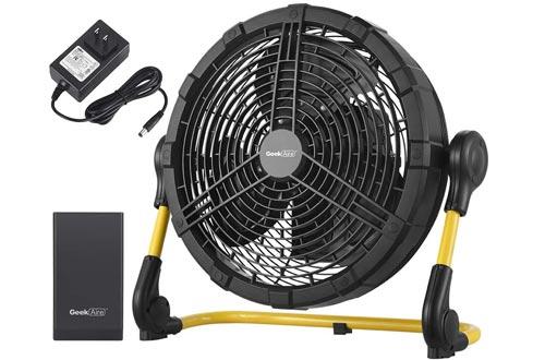 Geek Aire Fan, Battery Operated Floor Fan