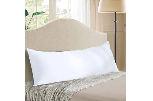 EVOLIVE Ultra Soft to Medium Density Microfiber Body Pillow