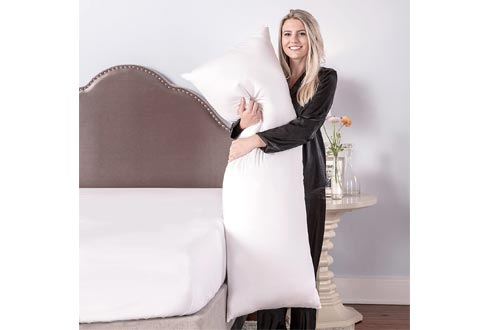 BioPEDIC Premium SofLOFT 20-by-54 Inch Body Pillow