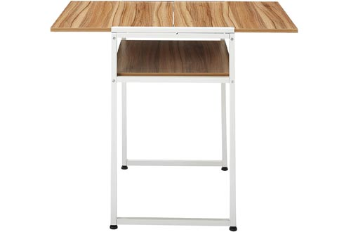 Magshion Extendable Restaurant Dining Drop Leaf Table