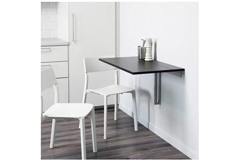 Ikea BJURSTA drop-leaf table