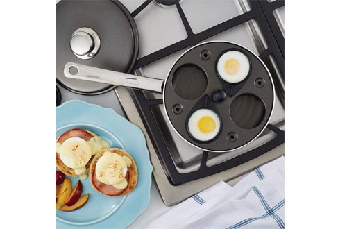 Farberware Nonstick Dishwasher Safe Egg Poacher Pan