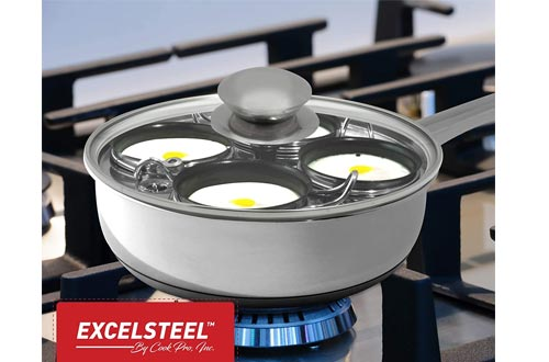 Home Kitchen Breakfast Brunch Induction Cooktop Egg Poacher