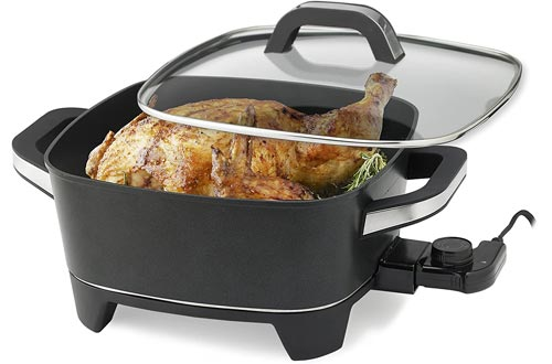 NESCO ES-12, Extra Deep Electric Skillet