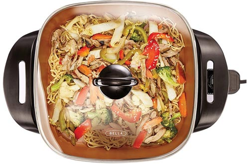 BELLA Electric Ceramic Titanium Skillet