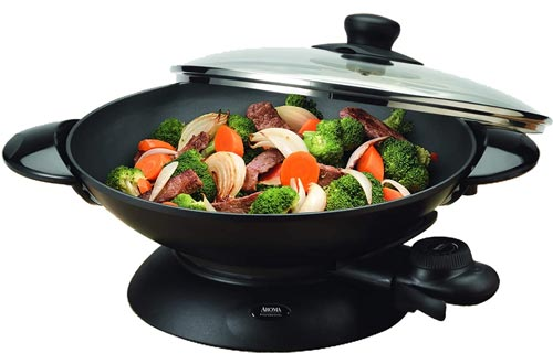 Aroma Housewares Professional AEW-306 Electric Wok