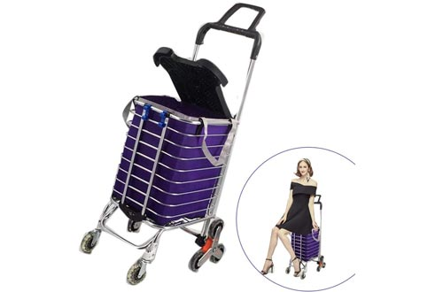 UNHG Folding Shopping Cart