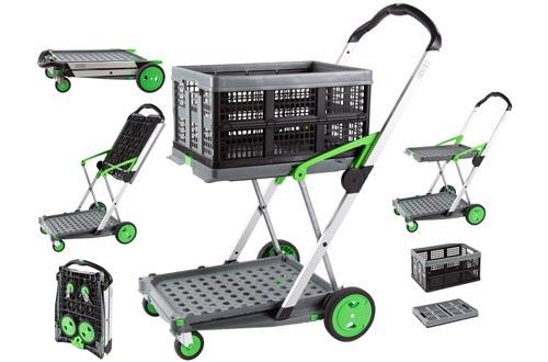 Salesmaker Carts ClaxGreen Green Clax Mobile Folding Cart