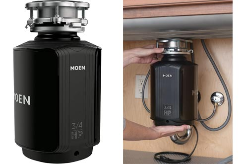 Moen GXS75C Host Series 3/4 HP Continuous Feed Garbage Disposal