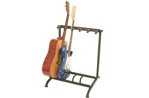 On-Stage GS7561 Foldable 5-Space Multi-Guitar Stand