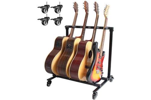 Folding Multi-Guitar Display Rack