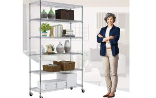 Metal Shelf organizer Heavy Duty Storage Unit