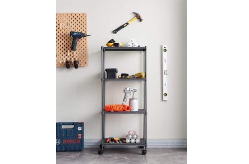 OVICAR 4-Tier Steel Wire Storage Shelves