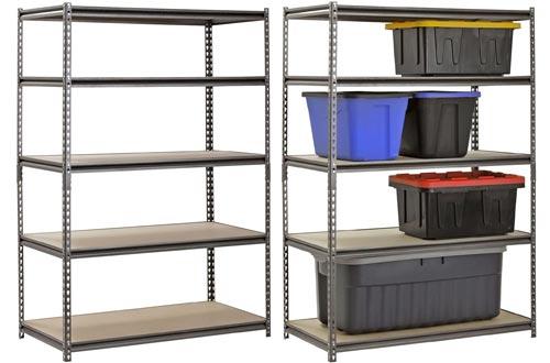 Hardware & Outdoor Heavy Duty Garage Shelf Steel Metal Storage