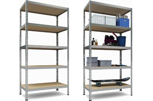 TKT Heavy Duty Shelving 5-Shelf Shelving Unit