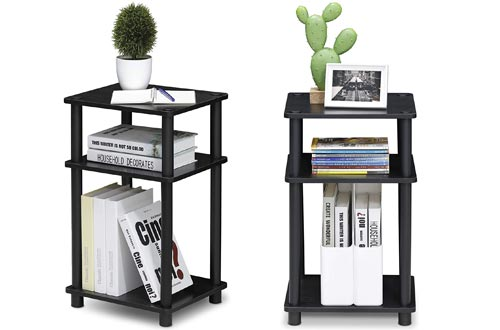 FURINNO Just 3-Tier End Table