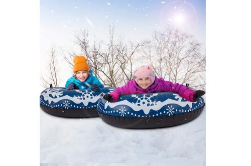 Heavy Duty Inflatable Sledding Tube for Kids and Adults