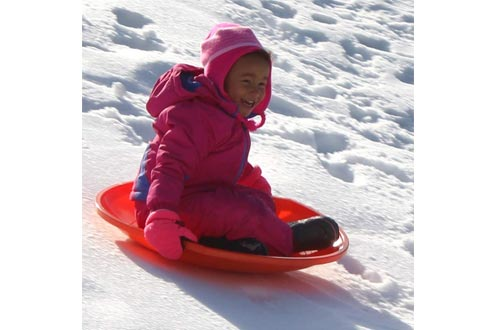 Flexible Flyer 3-pack Snow Saucer Sleds