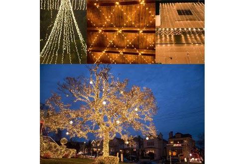 SANJICHA Super Durable Solar Christmas Lights