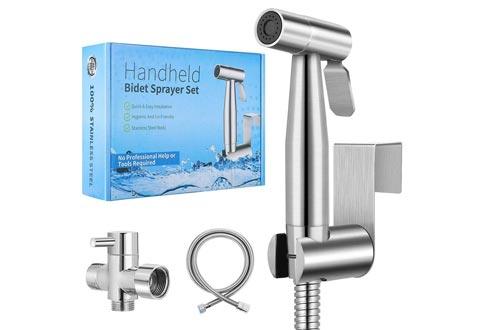 Premium Stainless Steel Bathroom Bidet Sprayer Set