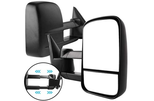 AUTOSAVER88 Manual Telescoping Towing Mirrors