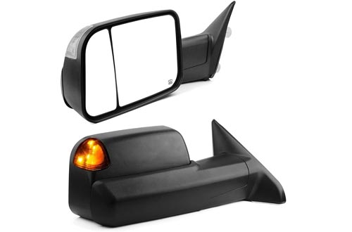 YITAMOTOR Towing Mirrors Compatible with Dodge Ram