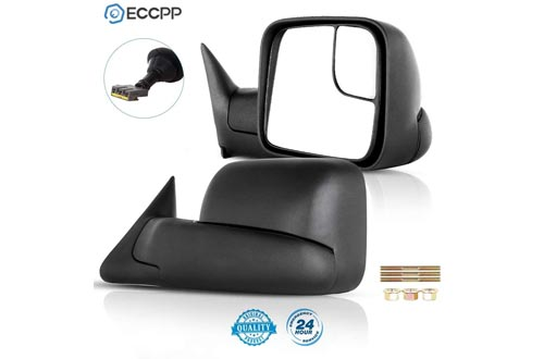 ECCPP Towing Mirrors Dodge Ram Tow Mirrors