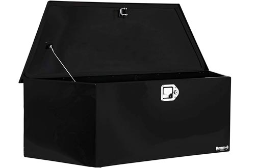 Buyers Products Black Steel Trailer Tongue Truck Box