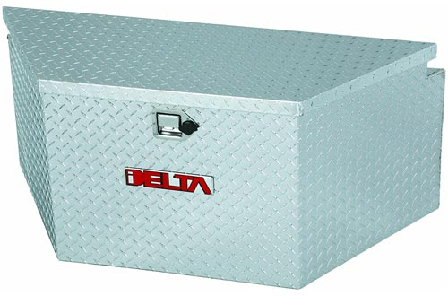 "Delta 410000 48"" Long Bright Aluminum Extra Wide Trailer Tongue Truck Box"