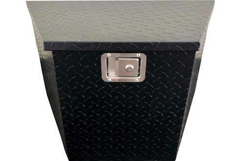 MAXXHAUL 50218 Aluminum A-Frame Trailer Tongue Box