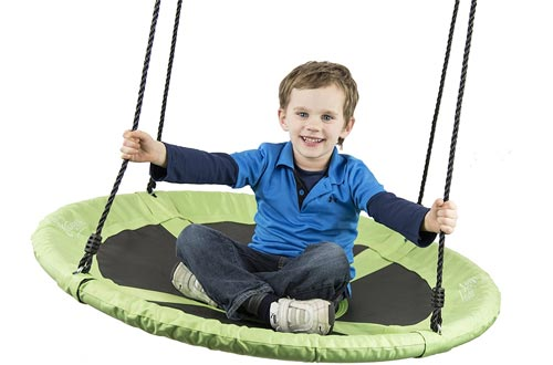 "Flying Squirrel 40"" Saucer Tree Swing"