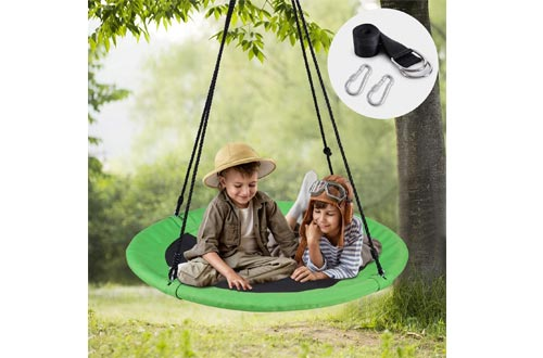 WV WONDER VIEW Tree Swing, Outdoor Swing with Hanging Strap Kit