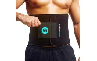 ActiveGear Waist Trimmer Belt Slim Body Sweat Wrap