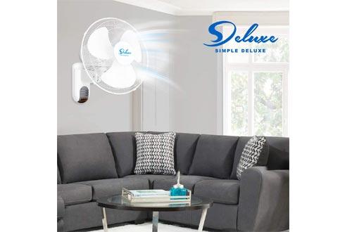 Simple Deluxe Digital Household Wall Mount Fans