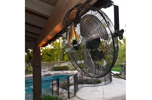"NewAir 20"" Outdoor High Velocity Wall Mounted Fan"