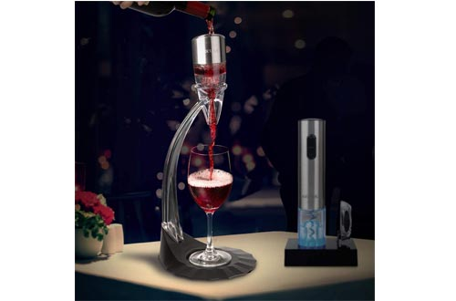Secura Deluxe Wine Aerator Aerating Pourer Spout and Decanter